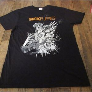 Other - Sick Puppies Signed Tour Shirt